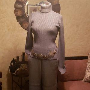 Zara Knit Collection 2pc Sweater & Palazzo Pants